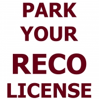 Park Your RECO License & Save Money
