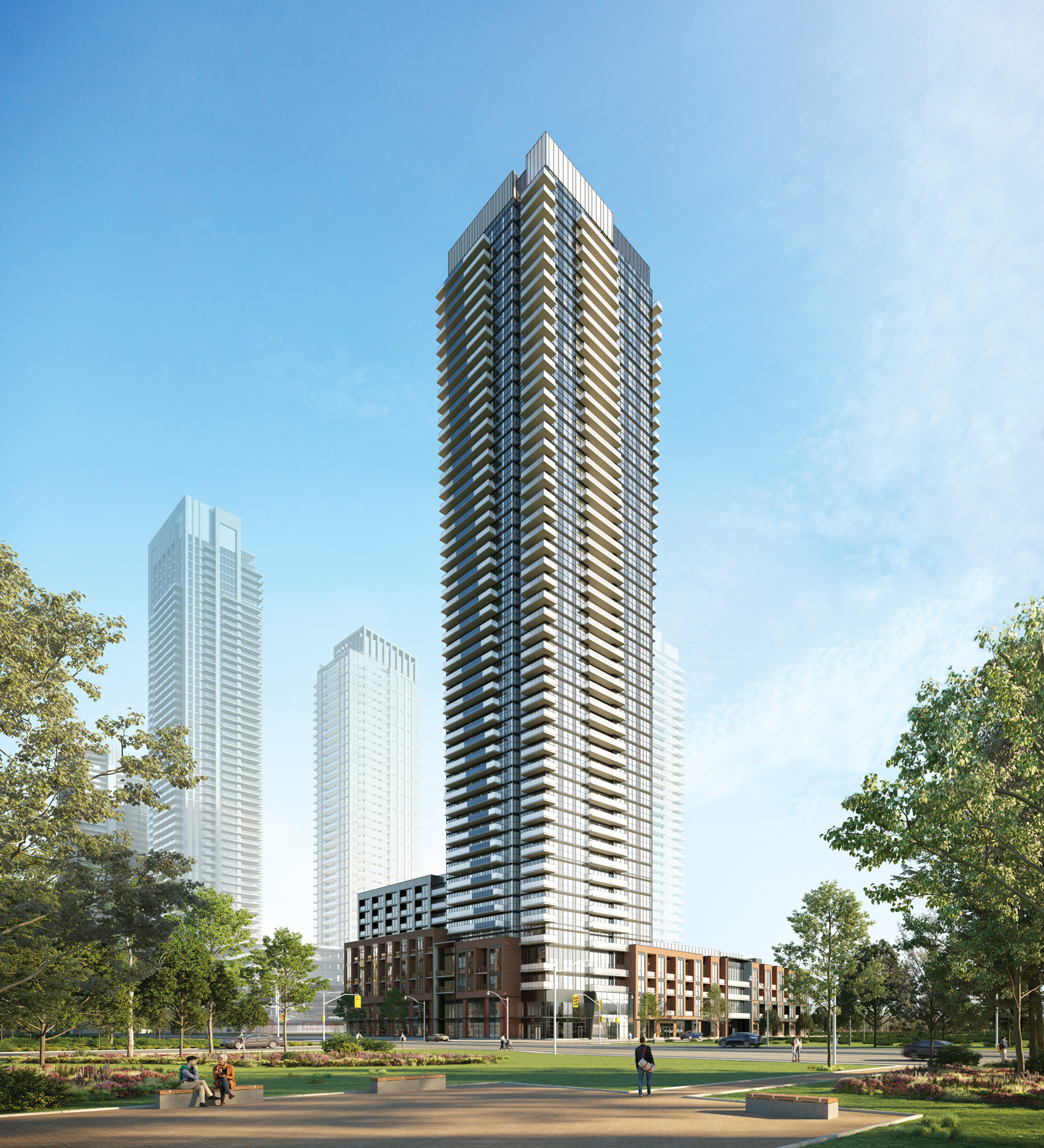 VIP Sales now on for AVIA 2 condos Square One Mississauga, Ontario Canada
